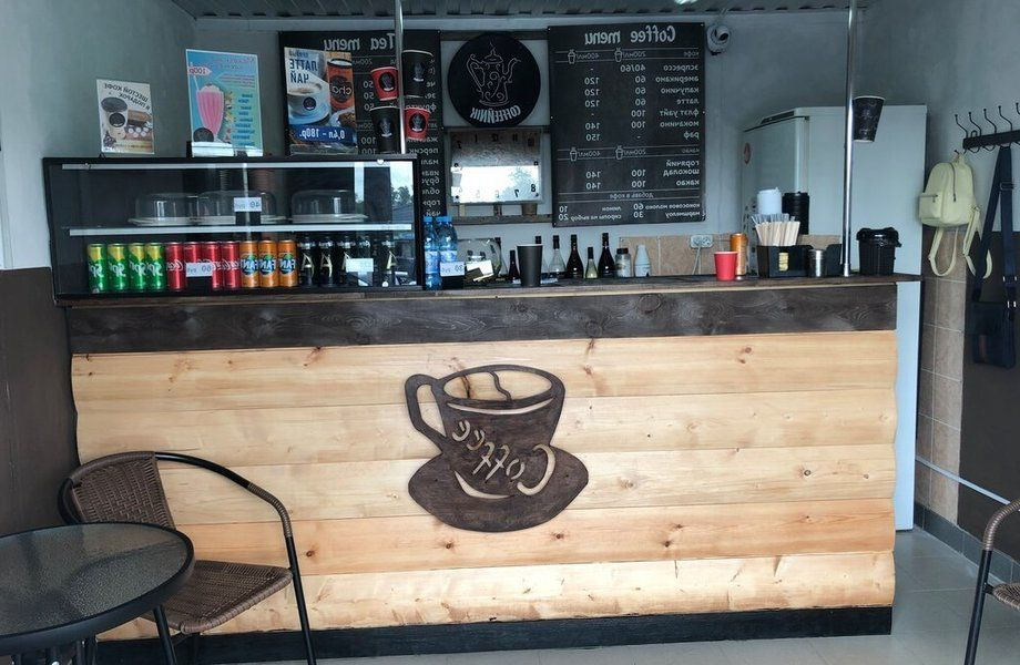 Точка кофе с собой на севере