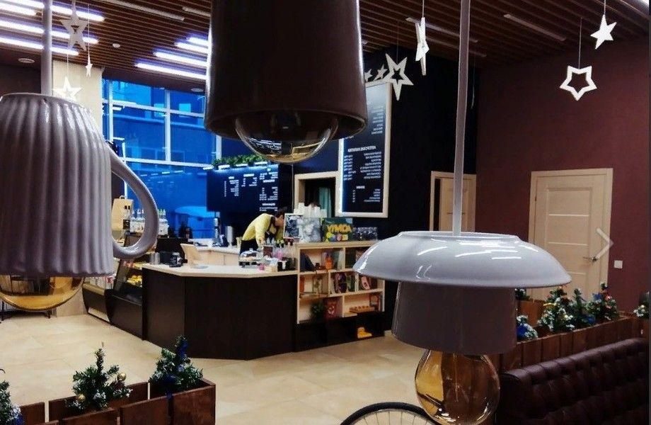 Кофейня с посадочными местами сделанная по нормам