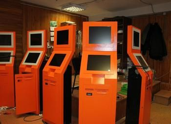 Сеть из 50 платежных терминалов с высоким пассивным доход