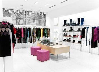 Магазин дизайнерской одежды в центре