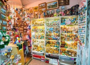 Оригинальный сувенирный магазин