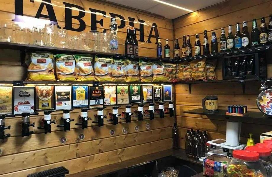 Магазин разливного пива на Дмитрия Донского