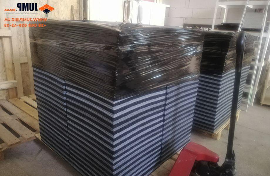 Перспективное производство по изготовлению резиновой плитки.