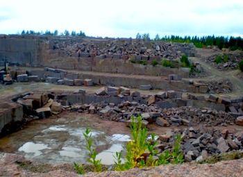 Карьер по добыче и переработке гранита