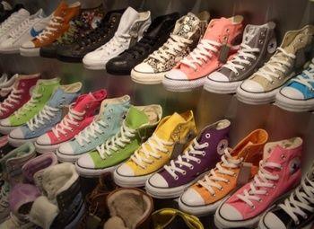 Обувной шоу-рум в самом центре города