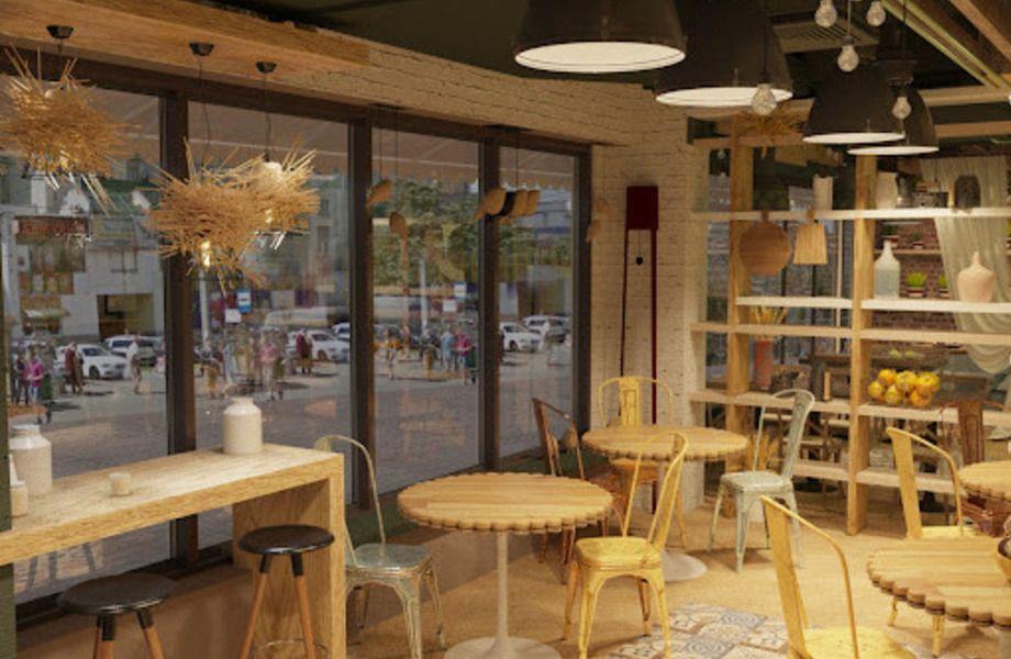 Сеть кафе-пекарен с собственным производством и доставкой