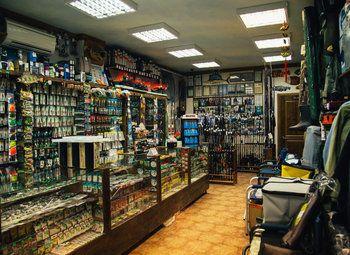 Рыболовный магазин в отличной локации