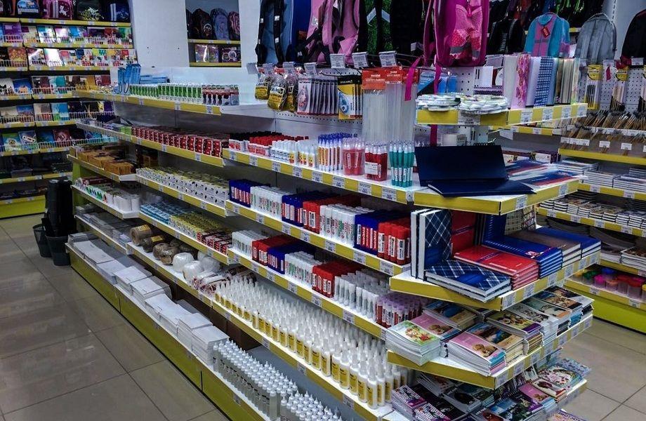 Магазин канцелярских товаров в спальном районе/ 15 лет работы
