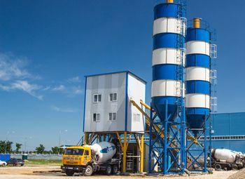 Действующий бетонный завод