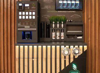 Вендинговые автоматы кофе с корнером
