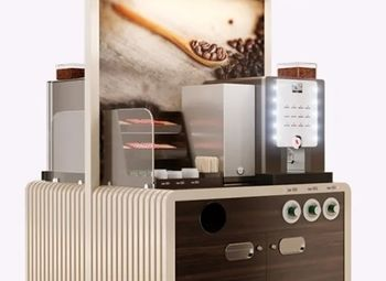 Сеть из 5 кофе-автоматов с корнерами