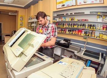 Копировальный центр + магазин канц. товаров