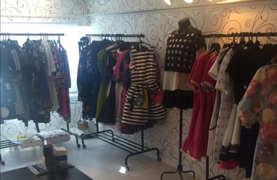 Магазин одежды в крупном ТЦ