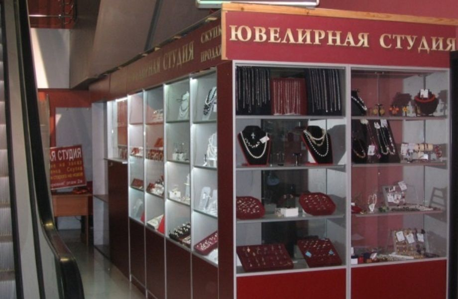 Ювелирный магазин - мастерская (бизнес по цене оборудования)